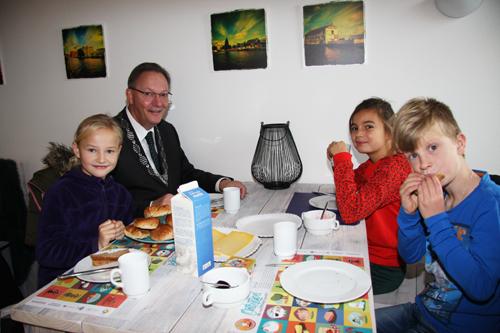 Ontbijten met de burgemeester