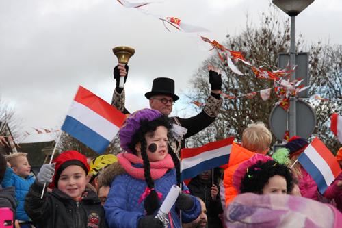 Sinterklaas dorpsomroeper
