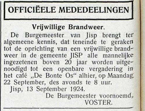 oprichting W en J adv blad 15 9 1924 v