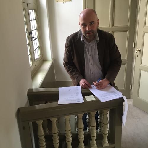Jos Wezel handtekening v