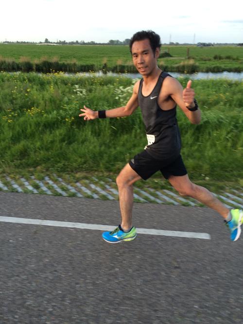 winnaar 10 km JK