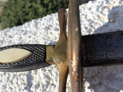 Wildschut zwaard 8 v