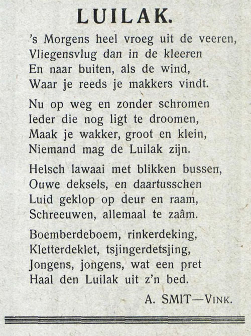 Luilak W en J advblad 15 5 1929 v