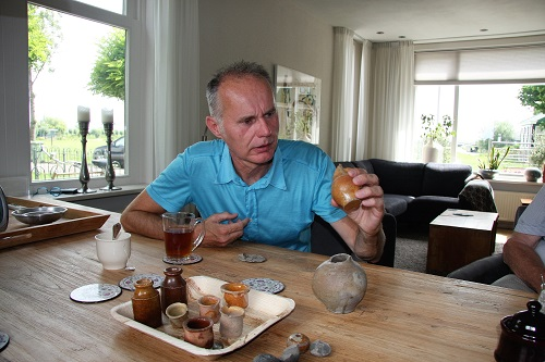 Piet Kleij archeoloog 2 v