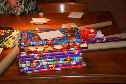 Sinterklaas pakketjes v