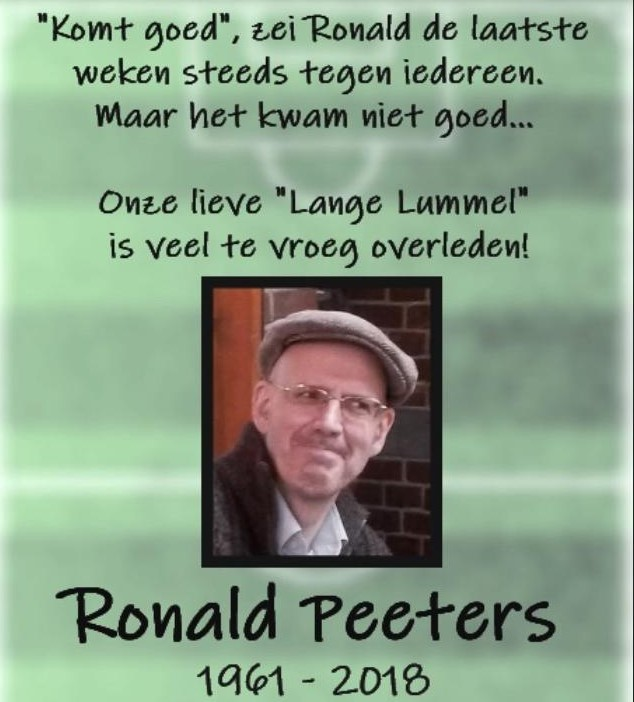 Lange lummel Ronald Peeters
