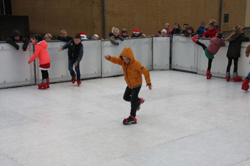 stijl schaatsen T Korver v