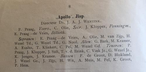 Zangverg Apollo 1905 M Zwart 2 v